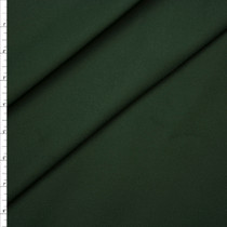 Forest Green Stretch Brushed Midweight Twill from 'Ralph Lauren' Fabric By The Yard