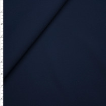 Navy Fine Stretch Midweight Poly/Cotton Poplin from 'Ralph Lauren' Fabric By The Yard