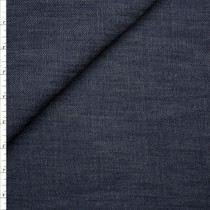 Designer Indigo 12oz Stretch Denim Fabric By The Yard