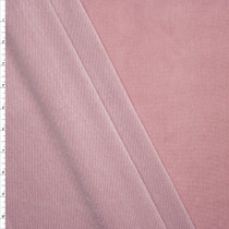 Dusty Rose Lightweight Stretch Rayon French Terry Fabric By The Yard