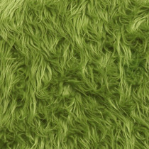 Avocado Mongolian Faux Fur