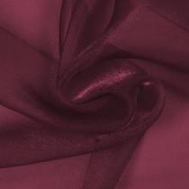 Burgundy Sparkle Organza