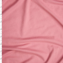 Pink Double Brushed Poly Spandex Fabric By The Yard