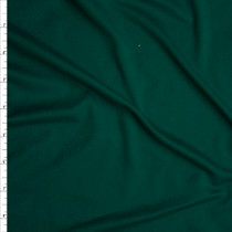 Emerald Green Double Brushed Poly Spandex Fabric By The Yard