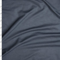 Charcoal Double Brushed Poly Spandex Fabric By The Yard