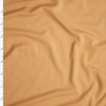 Buttercream Double Brushed Poly Spandex Fabric By The Yard