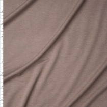 Warm Taupe Stretch Jersey Knit Fabric By The Yard