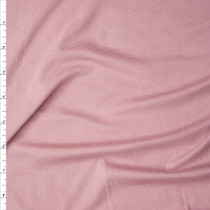 Dusty Pink Modal/Lycra Stretch Micro Rib Knit Fabric By The Yard