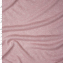 Blush Mottled Brushed Jersey Knit Fabric By The Yard