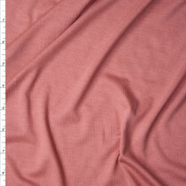 Dusty Rose Stretch Rayon Jersey Knit Fabric By The Yard