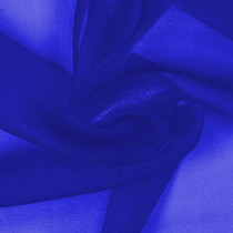Royal Blue Sparkle Organza