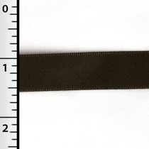 "Brown 5/8"" Satin Ribbon"