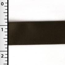 "Brown 7/8"" Satin Ribbon"