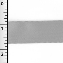 "Silver 7/8"" Satin Ribbon"