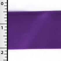 """Purple 1.5"""" Satin Ribbon - 50yd Roll"""
