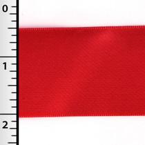 "Red 1.5"" Satin Ribbon - 50yd Roll"