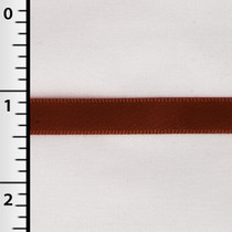"Rust 3/8"" Satin Ribbon - 100yd Roll"