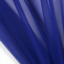 "Royal Blue 45"" Chiffon"
