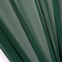 "Hunter Green 45"" Chiffon"