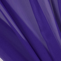Purple Two-Tone Chiffon