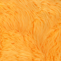 Neon Yellow Shag Faux Fur