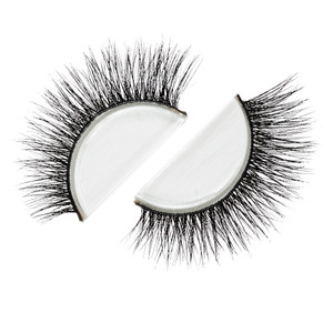 Strip Lash 3D Mink, Pre/Double-Stacked Beautiful Lashes Stack-able, and Reusable (Suggested use 20-25 wears)