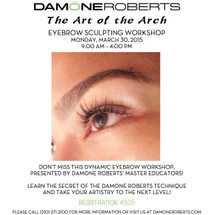 """The Art of the Arch"" Eyebrow Sculpting Workshop"