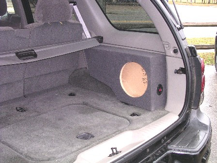 Single Sub Box For Side Cargo 2002 2009 Chevrolet