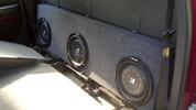 2003-2006 CHEVROLET SILVERADO 1500 CREW Triple sub box