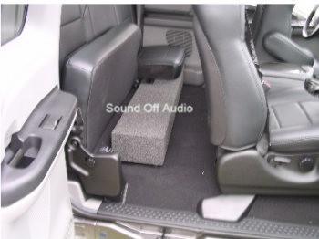 Sub Box 2001 2013 Ford F250 F350 Super Duty Super Cab