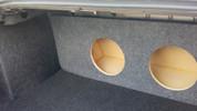 2006 to 2012 FORD FUSION DUAL SUB BOX