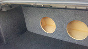 2006 to 2012 FORD FUSION DUAL SUB BOX