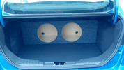 2011-2012 FORD FOCUS SEDAN DUAL SUB BOX