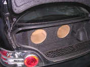 MAZDA RX8 DUAL SUB BOX
