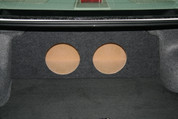 2002 to 2006 NISSAN ALTIMA DUAL SUB BOX