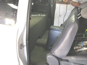1995-2004 TOYOTA TACOMA EXTENDED CAB TRUCK DUAL SUBWOOFER ENCLOSURE