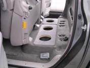 2004-2006 TOYOTA TUNDRA CREW CAB TRUCK TRIPLE 8 SUBWOOFER BAFFLE