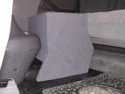 2004-2006 TOYOTA TUNDRA DOUBLE CAB SINGLE SUB CONSOLE BOX