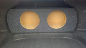 2010-2013 Ford Taurus 6th Generation Dual Sub Box