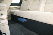 07-13 GM SIERRA CREW DUAL SUB BOX AMP RACK