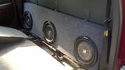 Triple Sub Box 2003-2006 GM Sierra 1/2 Ton Crew