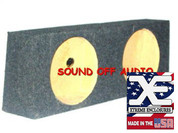 1997-2009 WRANGLER Dual Sub Box