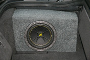 2005-2009 CHEVROLET CORVETTE C6 CONVERTIBLE SUBWOOFER BOXES- PAIR