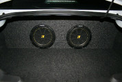 2010 to 2013 Chevrolet Camaro Coupe Dual Subwoofer Enclosure