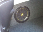 2010 to 2014 Camaro Coupe Single Subwoofer Box