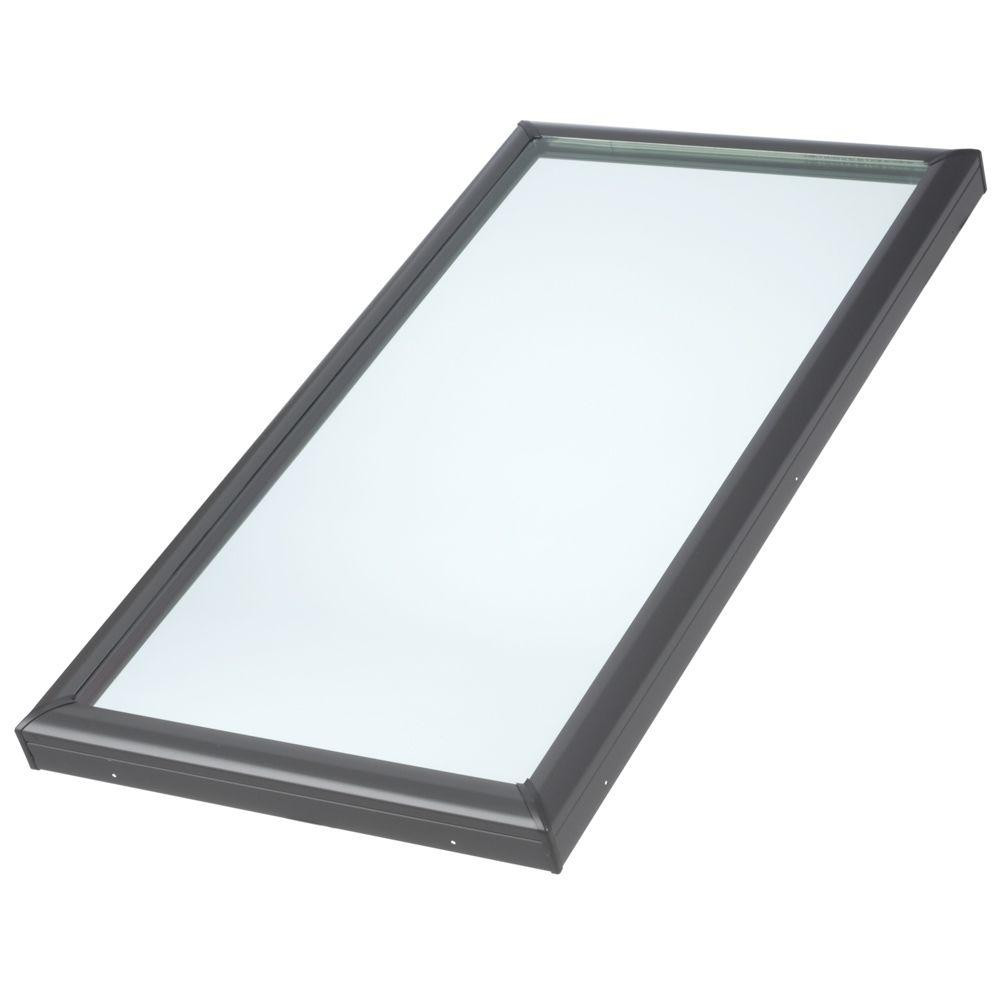 Velux fcm 3446 fixed skylight for Velux glass
