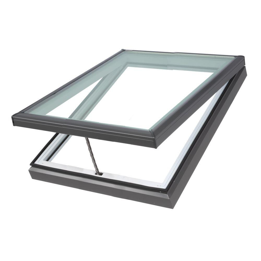 Velux vcm 3434 manual venting skylight for Velux solar skylight tax credit
