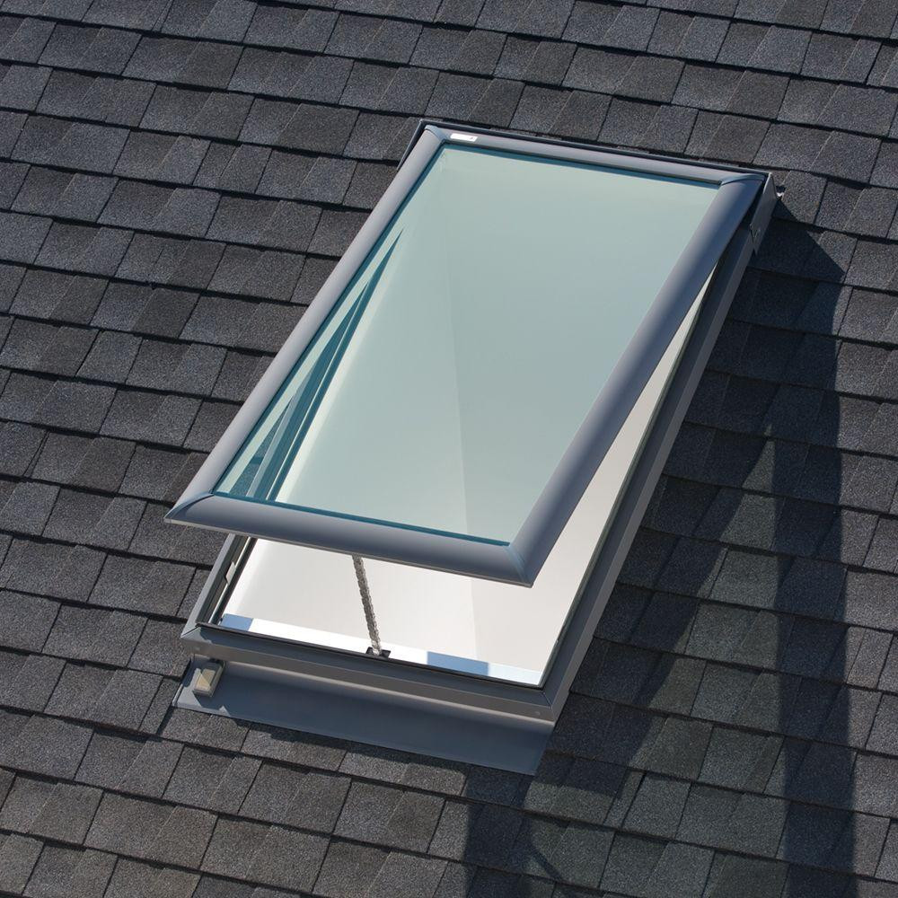 Velux vse c04 electric skylight for Velux solar skylight tax credit