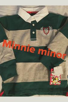 Minnie Minor Boys Rugby Shirt