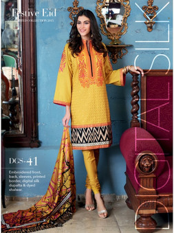 Gul Ahmed DGS-41 Embroidered Suit
